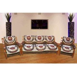 manvi creations Sunlower Sofa cover