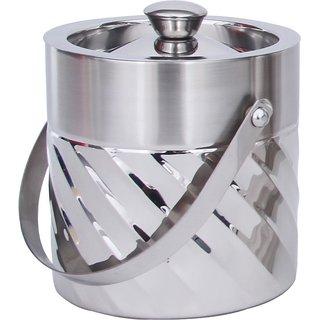 Steren Swirl Design Ice Bucket