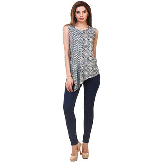 Hive91 Asymmetrical Designer Top