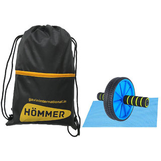 90c1f2ca582e Buy HOMMER Fitness AB Roller Gym Bag Home Gym Combo. Online - Get 18% Off