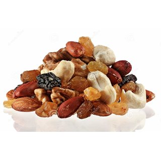 Radhe Radhe Mix Meva Dry Fruit Pack - 500 Gm From Jammu