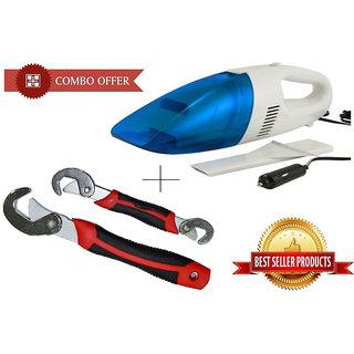 Buy Car Vacuum Cleaner With Snap N Grip Multi Purpose Wrench Set - SPRSNGP