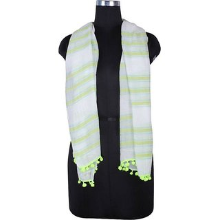 Selfi Wear Polka Print Pc.Cotton Women's Stole