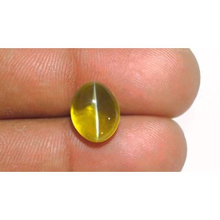 Jaipur Gemstone 4.25ratti Natural Certified Cat's Eye (Lehsunia)