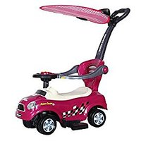 Toyhouse Multiway Junior Push Car With Canopy In Handle