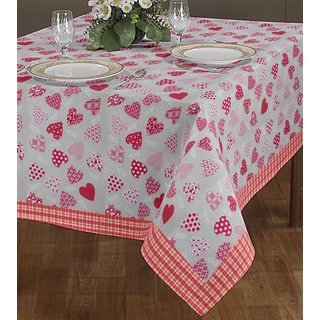 Brand New Designer Cotton Table Cover - Assorted Design  Colors
