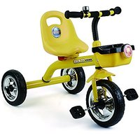 Toyhouse Simple And Heavy-Duty Tricycle Yellow