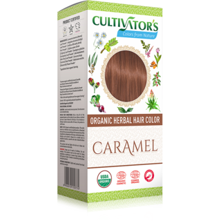 Cultivators Organic Herbal Hair Color - Caramel