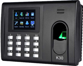 eSSL K30 Attendance Machine For Homes, Hotels, Factories, and Hospitals With Battery Backup