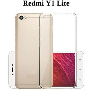 Redmi Y1 Lite     Premium Quality Ultra-Thin Transparent Back Cover ( TPU ) )