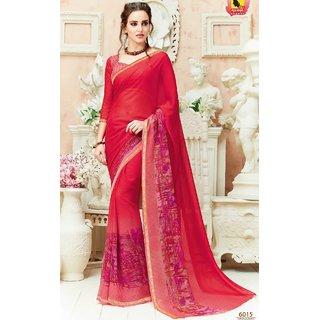 Subhash  Beige Plain Crepe Silk Saree For Women