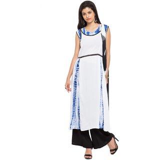 Subhash  White Plain Cotton Saree For Women