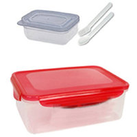 Lock Lunch Box (Colour May Vary) - Best For Return Gift