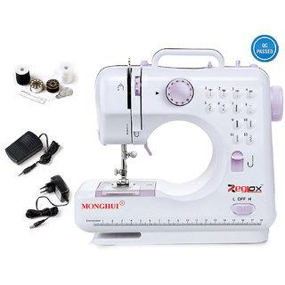 Reglox 12 built-in Stitch Pattens Multi-Functional Electric Sewing Machine