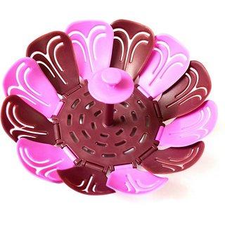 Pin to Pen Plastic Fruit Vegetable Basket (Multicolor)