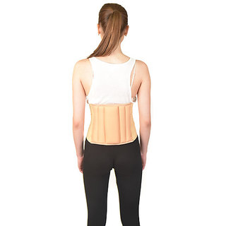 d22a7bc76b5 Buy AR Lumbar Sacral (L.S.) Belt Spinal Brace Mild Lower Back Pain  Abdominal Back Support (100 cm to 110 cm) - XL Online - Get 20% Off