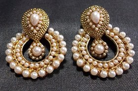 Shree Mauli Creation Gold Plated Gold Alloy Hangings for Women