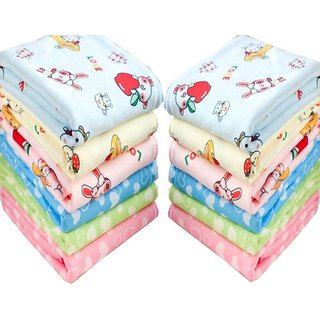 Angel homes pack of 12 cotton face towel