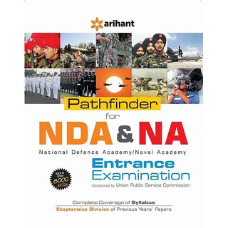 Pathfinder for NDA  NA Entrance Examination National Defence Academy/Naval Academy Conducted by UPSC(English, Paperback, Arihant Experts)