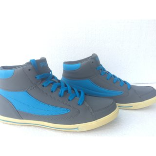 662a2288bf59 Buy fila blue high ankle shoes Online - Get 37% Off