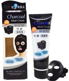 Charcoal Anti-Acne & Pimples/Blemishes Unisex Mask Cream For All Skin Types (130 gm)