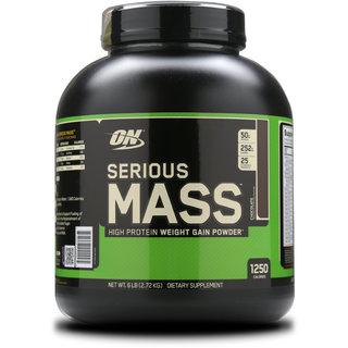 Optimum Nutrition (ON) Serious Mass - 6 lbs (Chocolate)