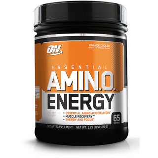 Optimum Nutrition (ON) Amino Energy - 65 Servings (Orange Cooler)