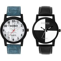 Gen-Z Combo Of 2 Youth Social And Chess Watches