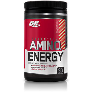 Optimum Nutrition (ON) Amino Energy - 30 Servings (Strawberry Lime)