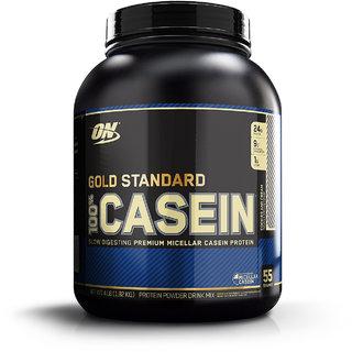 Optimum Nutrition (ON) 100% Casein Protein - 4 lbs (Cookies & Cream)