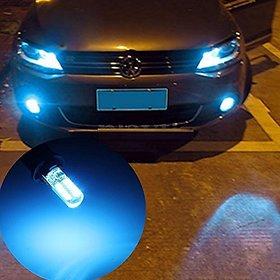UNIQSTUFF 2x T10 SMD 24 LED Waterproof Car Flashing Light Bulb Lamp DC 12V Blue for- Honda Civic
