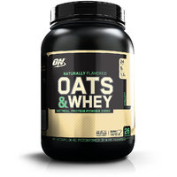 Optimum Nutrition (ON) 100% Natural Oats & Whey - 3 Lbs