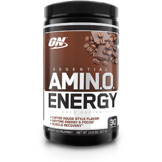 Optimum Nutrition (ON) Amino Energy - 30 Servings (Iced Mocha Cappuccino)