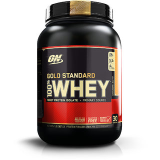 Optimum Nutrition (ON) 100% Whey Gold Standard - 2 lbs (Strawberry Banana)
