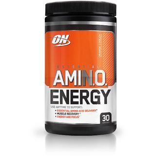 Optimum Nutrition (ON) Amino Energy - 30 Servings (Orange Cooler)