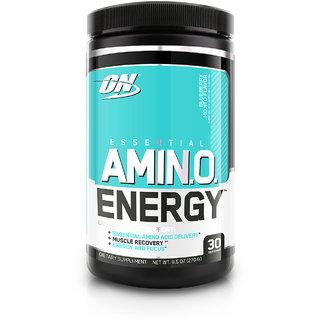 Optimum Nutrition (ON) Amino Energy - 30 Servings (Blueberry Mojito)