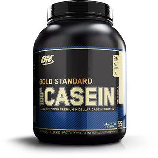 Optimum Nutrition (ON) 100% Casein Protein - 4 lbs (Creamy Vanilla)