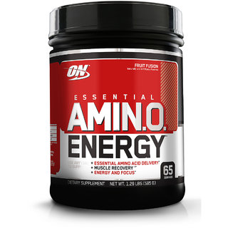 Optimum Nutrition (ON) Amino Energy - 65 Servings (Fruit Fusion)