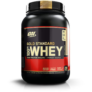 Optimum Nutrition (ON) 100% Whey Gold Standard - 2 lbs (Mocha Cappuccino)