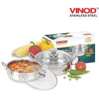 10% OFF On Vinod - 2 Pcs. Elite Bowl Set With Glass Lid 900ml & 1100ml