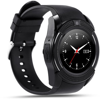 27d38b97e Smart V8 Bluetooth Smartwatch With Sim Tf Card Support With Apps like  Facebook And Whats app