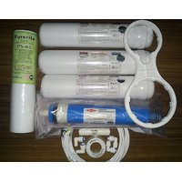 KENT RO Water Filter Purifier COMPLETE SERVICE KIT+FLIMTEC MEMBRANE FOR 1 YEAR (Compatible With Kent,Dolphin,Other Models Fast Shipping)