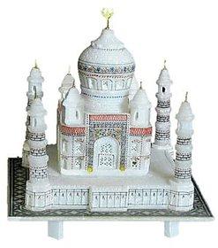 Radhey Handicraft White Marble Taj Mahal
