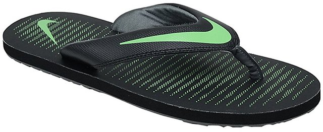 pretty nice be2f2 4f714 Buy Nike Chroma V Green Thong Flip Flop Slippers Online ...