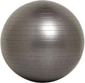 Instafit PVC Grey  85 cm Gym Ball