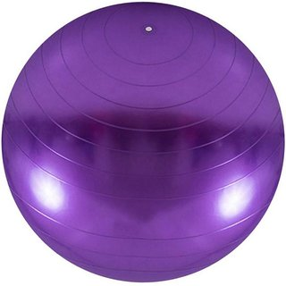 Instafit PVC Purple 55 cm Gym Ball