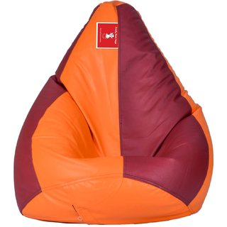 Comfy Bean Bag ORANG MAROON L SIZE Without Fillers - Cover Only