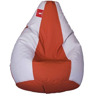 Comfy Bean Bag ORANG WHITE L SIZE Without Fillers - Cover Only