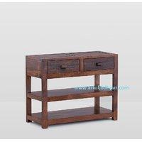Side Table/telephone Table In Sheesham Wood- Home Furniture Onaline