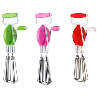 Roxa Regal Hand Blender Pack of 3 (Multi Color)
